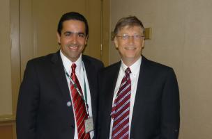 Penagos y Bill Gates