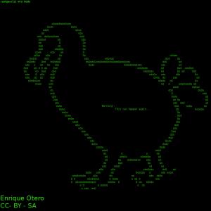 Dodo en ASCII Art